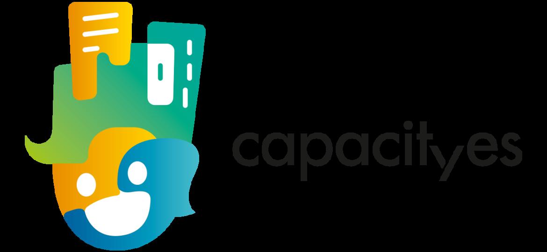 Capacityes logo oriz RGB