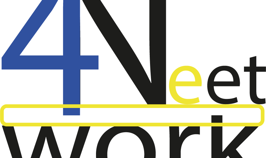 Net-work for NEET - logo fondo bianco